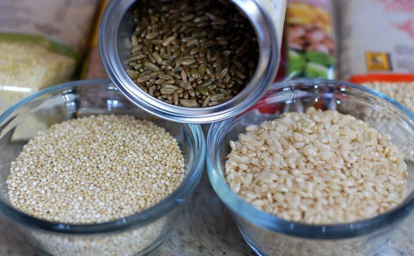 riz, quinoa, produits sans gluten,  marché sans gluten en France