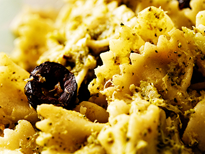 Peppery Hemp Seed Pesto