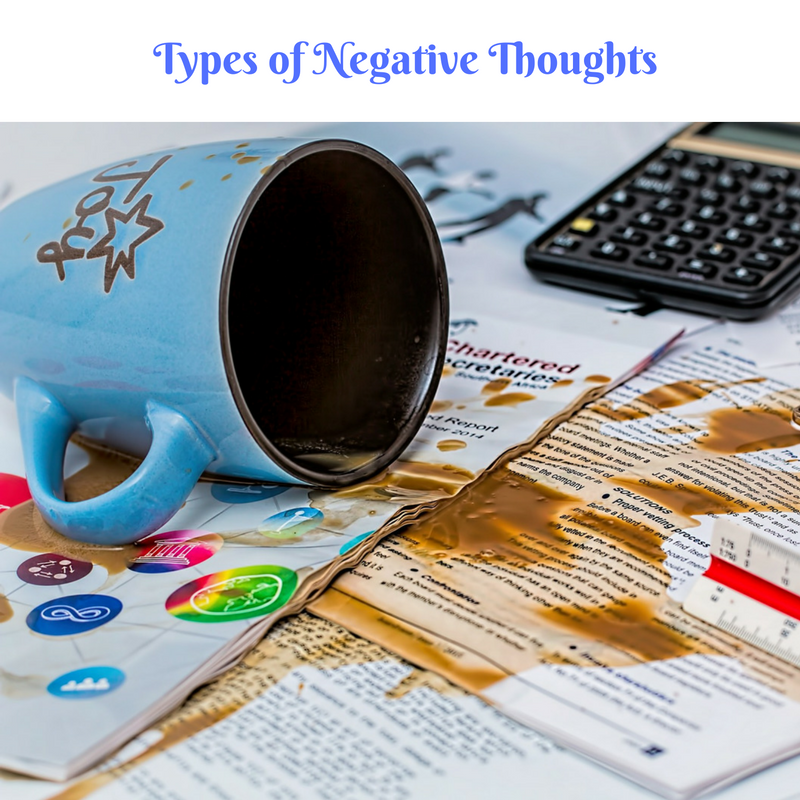 Types of Negative Thoughts