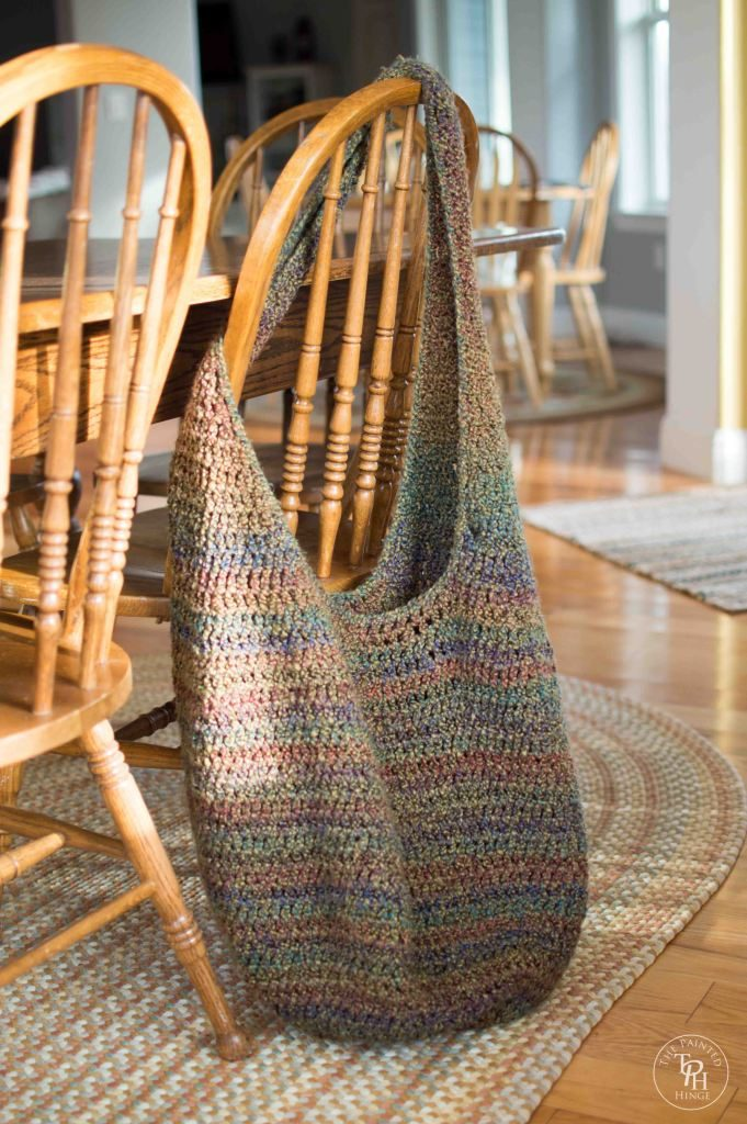 Crochet Extra Large Market Bag
