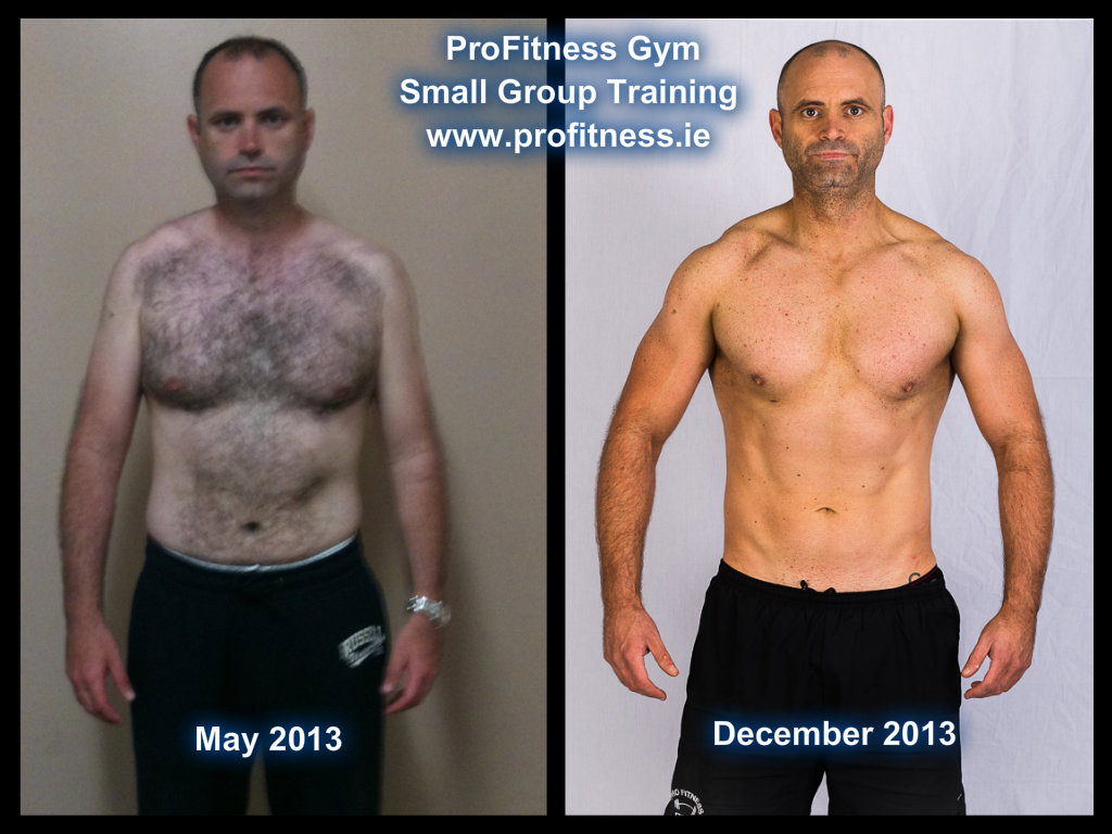 Lean Muscle Body Before And After Personal Trainers Irel...
