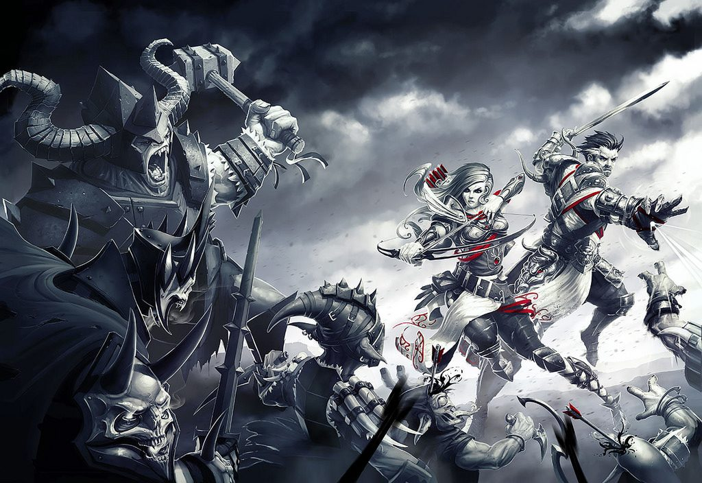 The cover art for Divinity: Original Sin