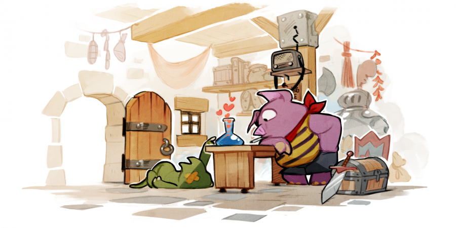 Casual Glance – Wonderboy: The Dragon's Trap