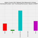Adams County Colorado Individual Market Network Size Rating Based on SERFF Data