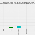 Montezuma County Colorado Individual Market Network Size Rating Based on SERFF Data