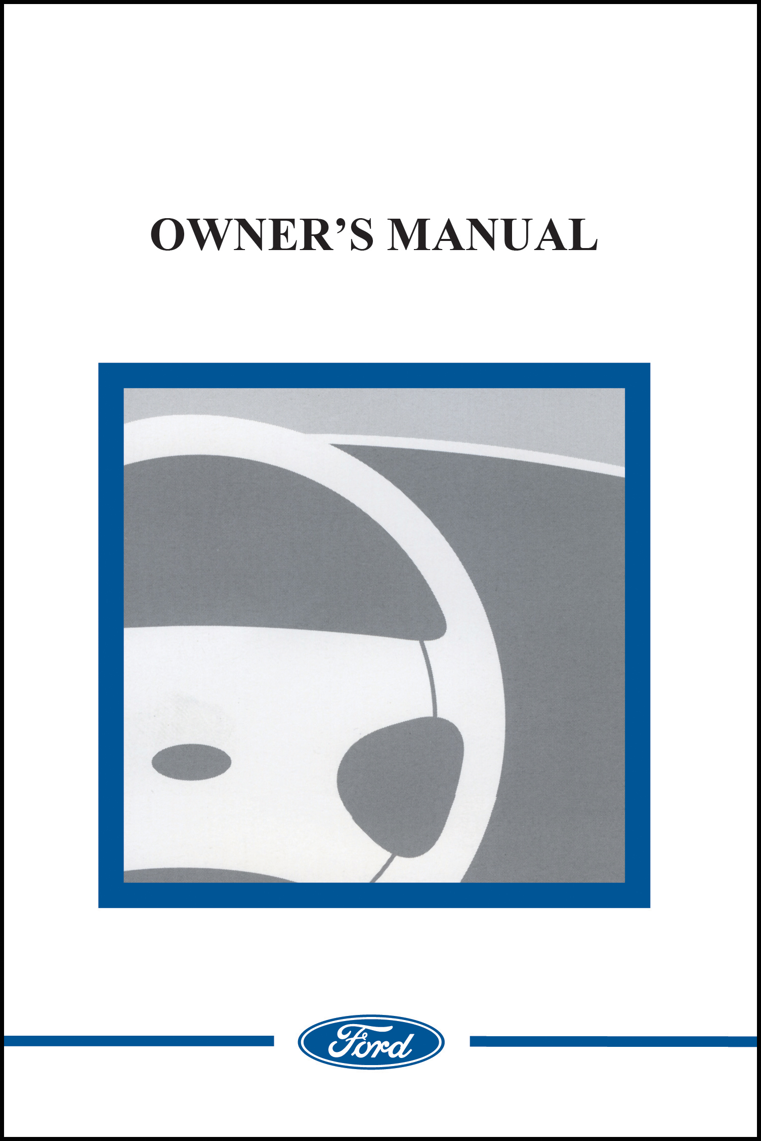ford 1996 mustang owner manual portfolio english 96 ebay. Black Bedroom Furniture Sets. Home Design Ideas