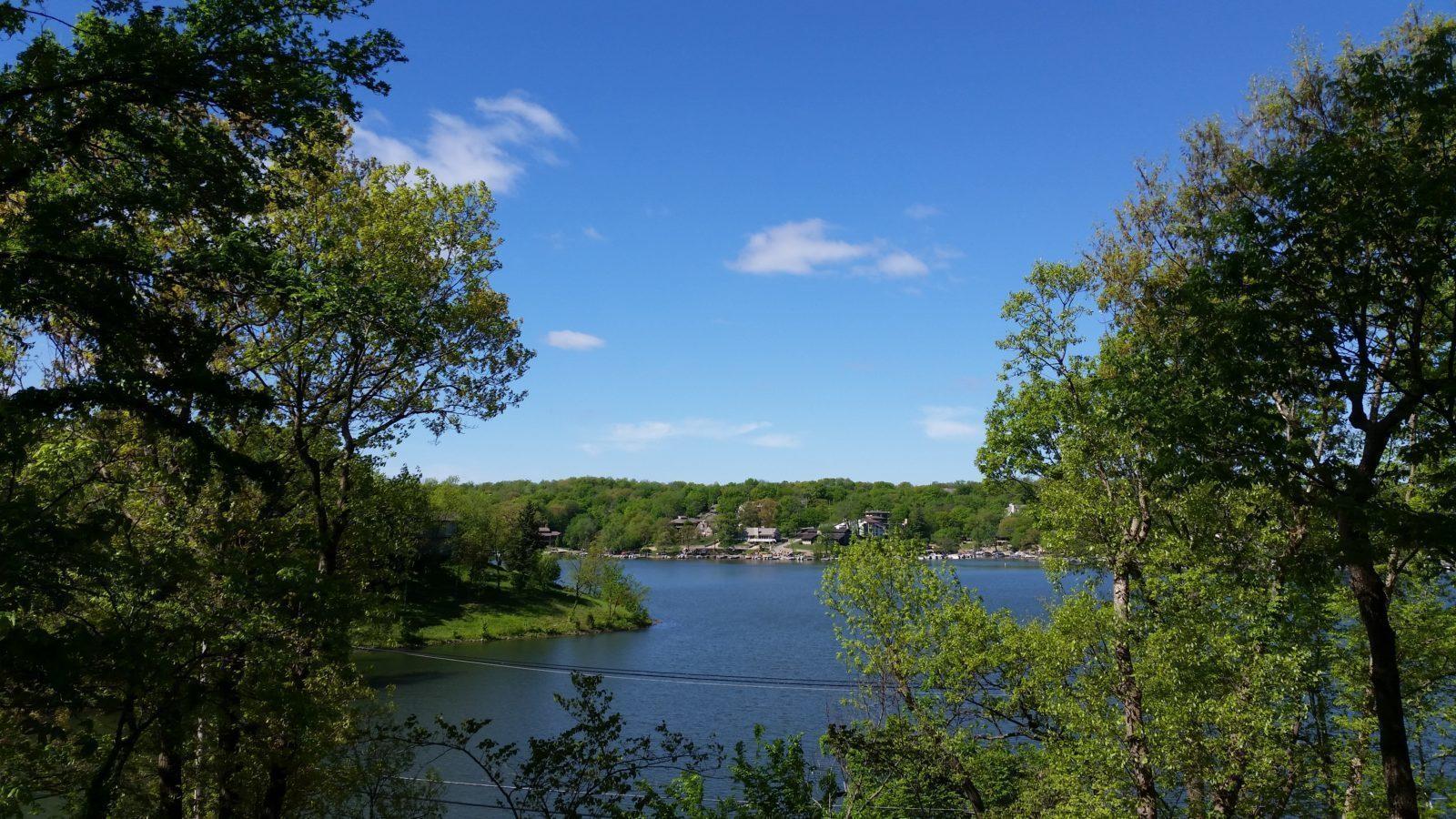 Stunning Lakefront Mid Century Mordern