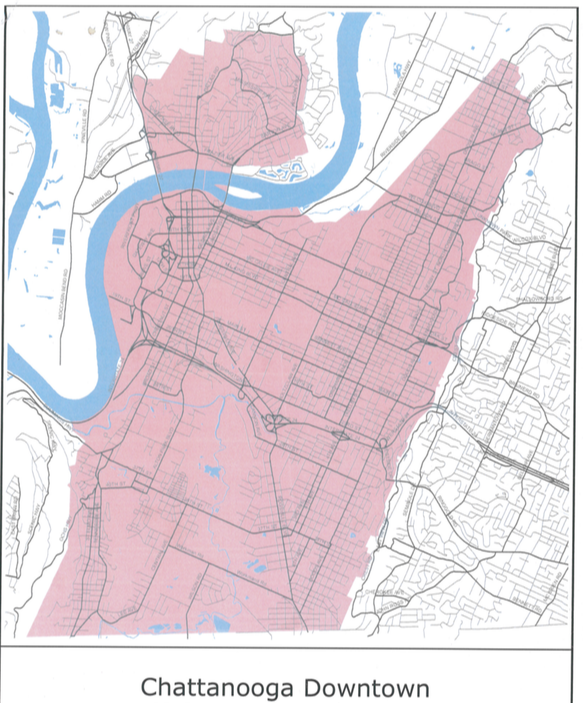 possible-Chattanooga-short-term-rental-map