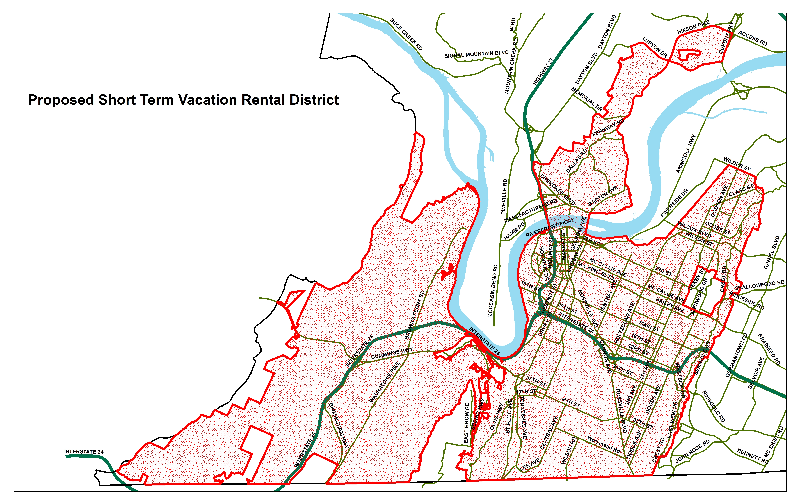 short-terms-rental-map-Chattanooga