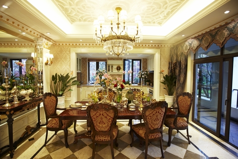 Luxury Homes Dining Room