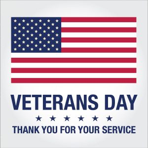 Veterans Day, Office Closed