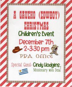 Children's Christmas Gaucho Day @ PBA