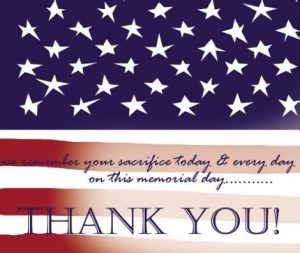 Memorial Day, Office Closed