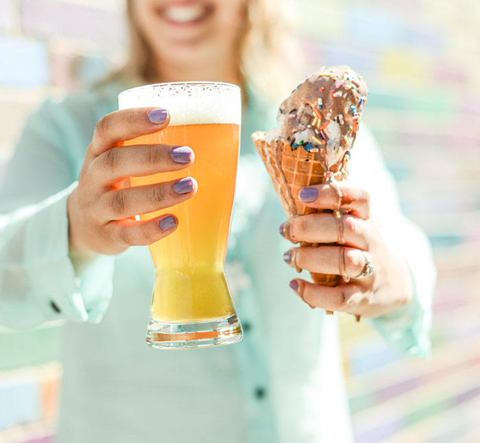 how to make beer ice cream