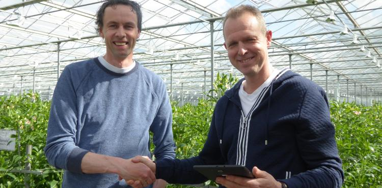 Together2Grow wint tablet met HORTISENSE