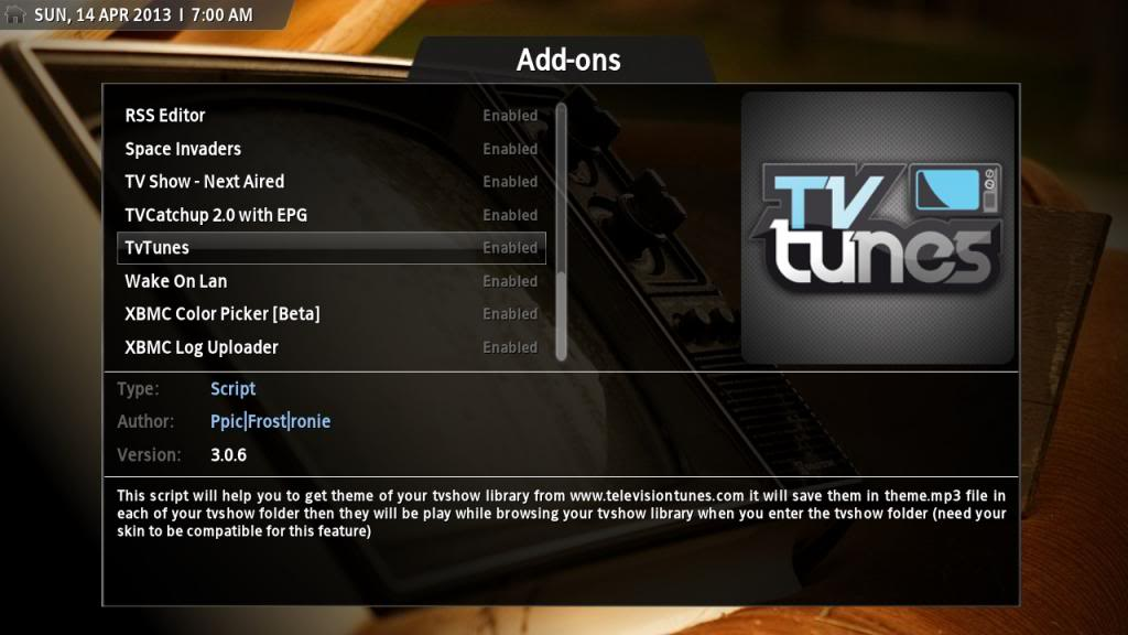 How To Install TVTunes For Kodi