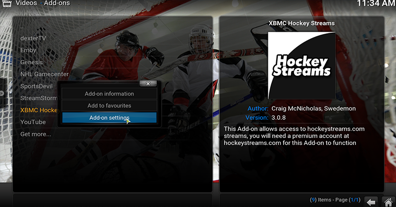 How To Install Hockeystreams in Kodi