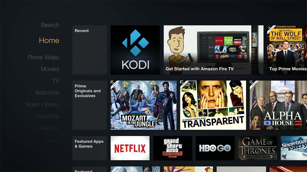 How To Add Kodi Shortcut To Fire TV Home Screen