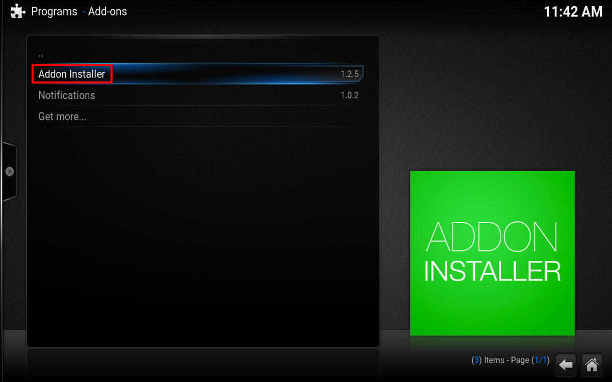 How To Install an Updated Pro Sports addon in Kodi, Step 2