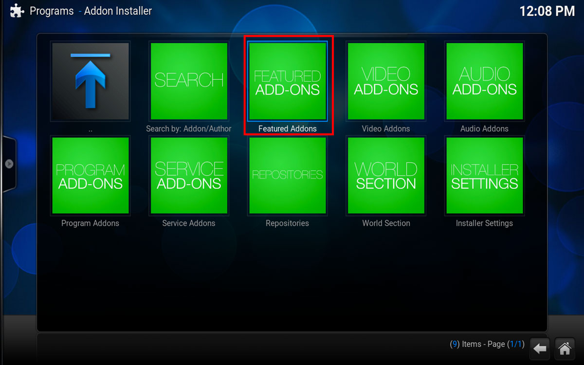 How To Install Cast A Way in Kodi, Step 3