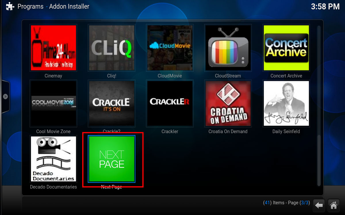 How To Install Evolve in Kodi Step 2