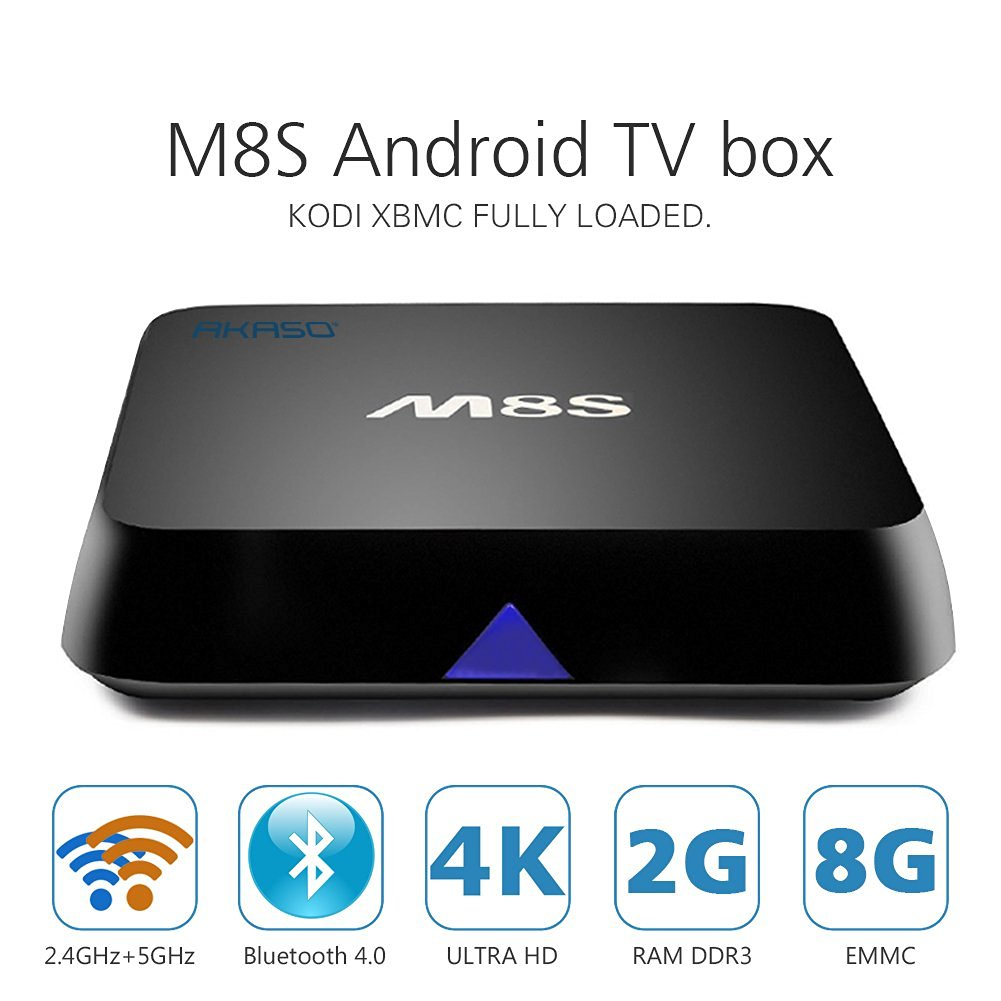 Cheapest Android Boxes, the M8S for Kodi