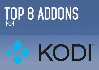 Top 8 Addons For Kodi, September 2016