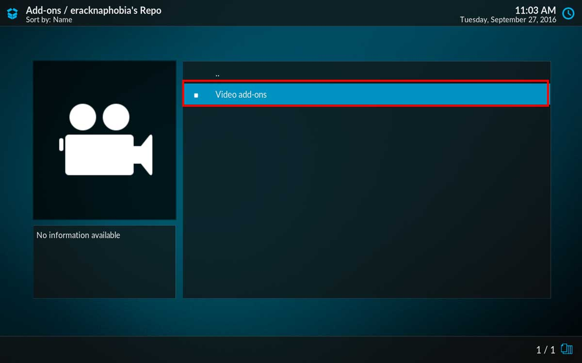 Installing NHL.TV in Kodi 17, step 8