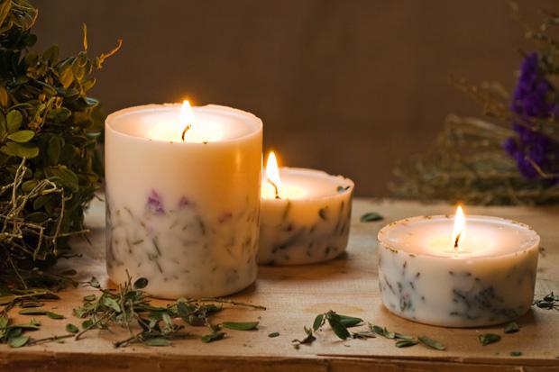 Ароматические свечи своими руками фото