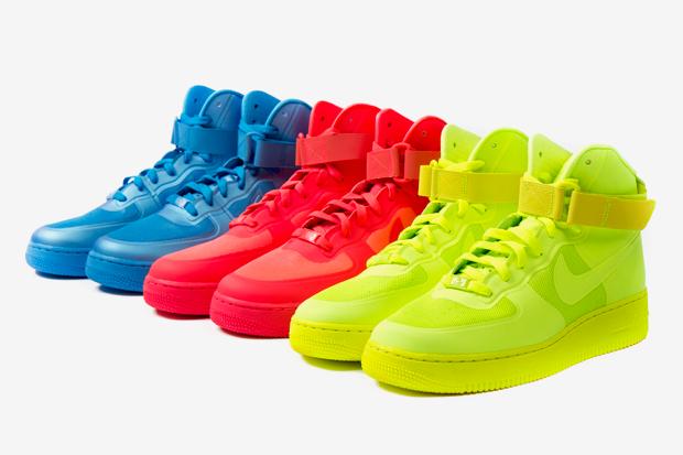 Obrázek k otázce: Kotníkové žlutě fosforové Nike Air Force 1?