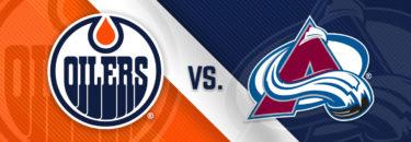 Oilers vs. Avalanche