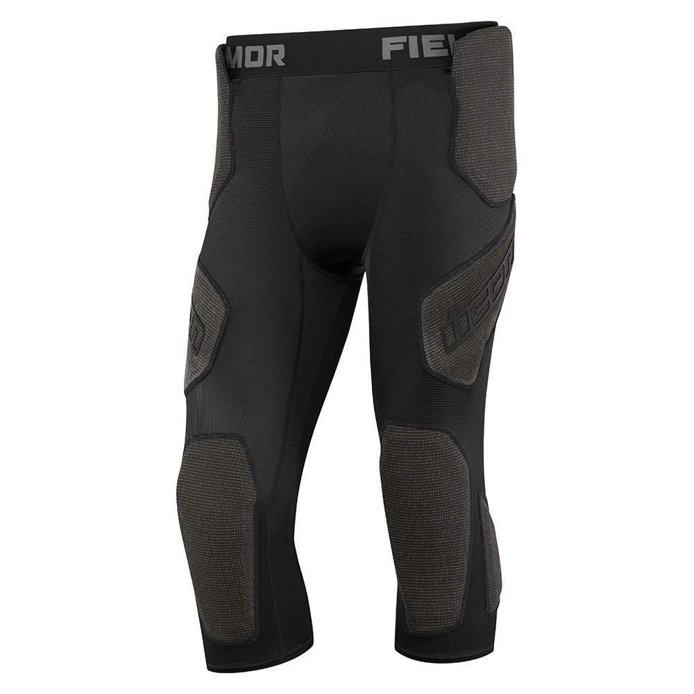 Shirt /& legging with protectors made of Dupont™ Kevlar® Fiber fabric.