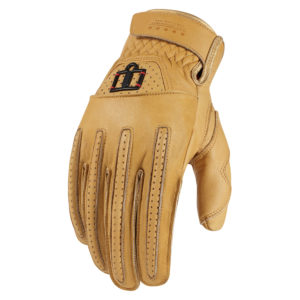 $75.00 Icon Pursuit Leather Gloves #7446