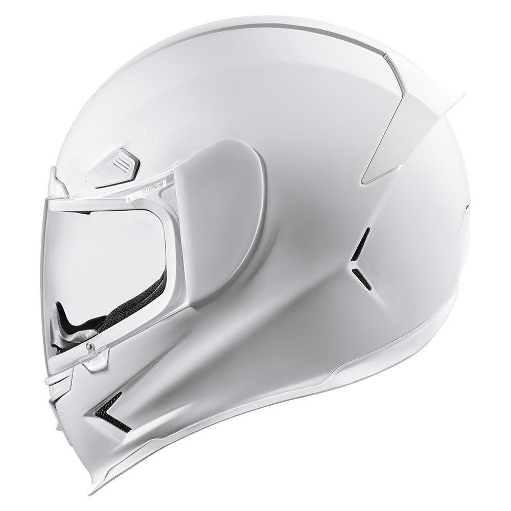 Gloss - White   Helmets   Icon 1000 - Go fast, look flash.