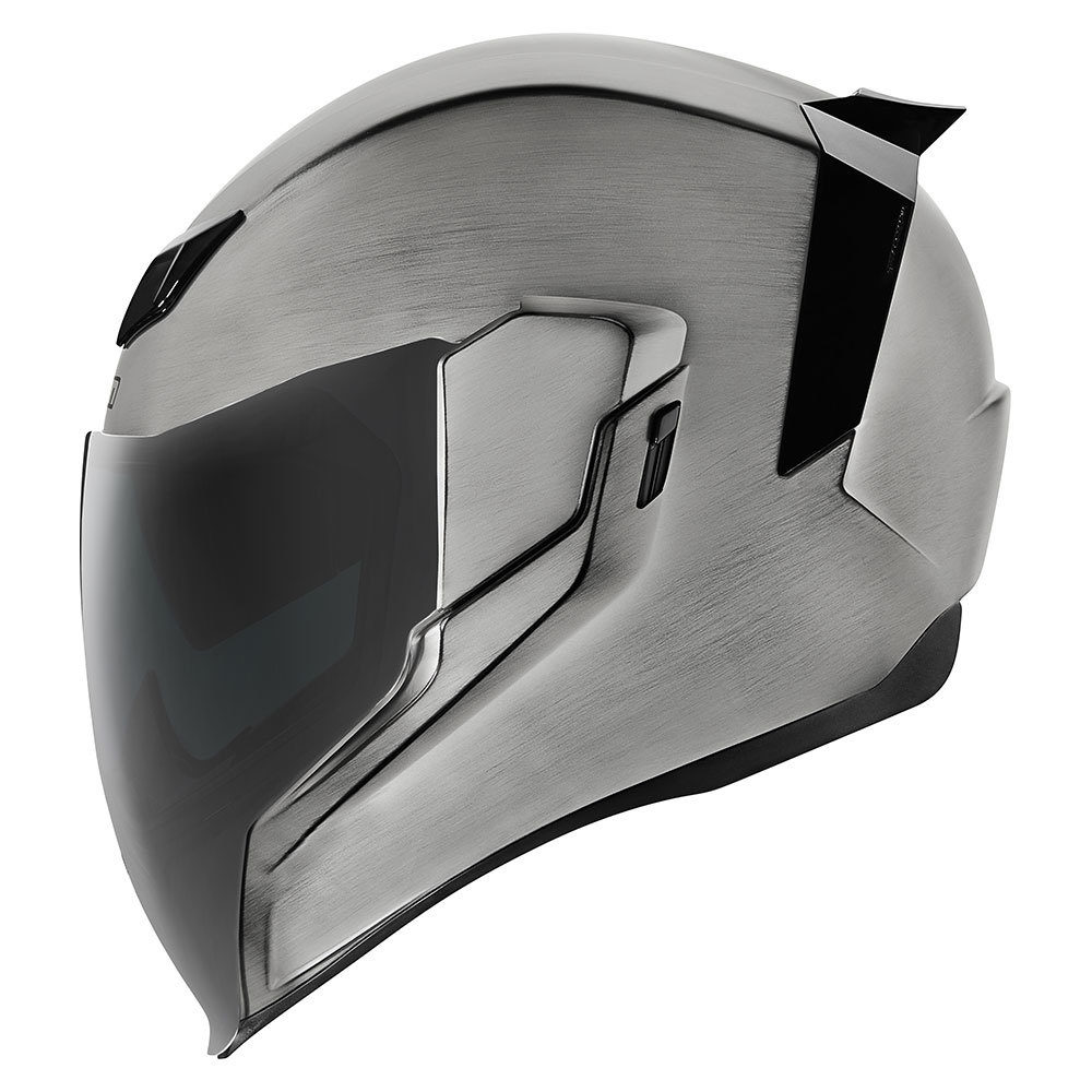 Light Smoke ICON MotoSports FLITE Shield for AIRFLITE Helmets