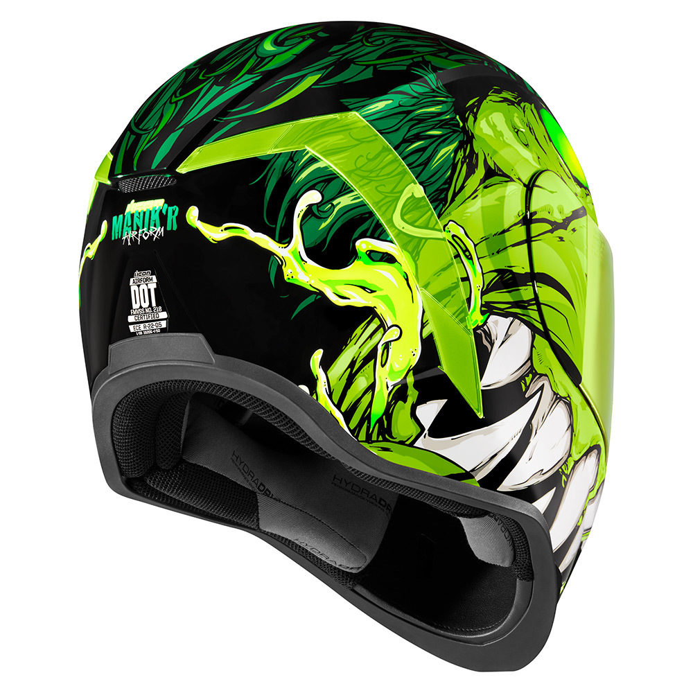 Icon Racing Motorcycle Helmets | Introducing The All New MANIK'R - GREEN