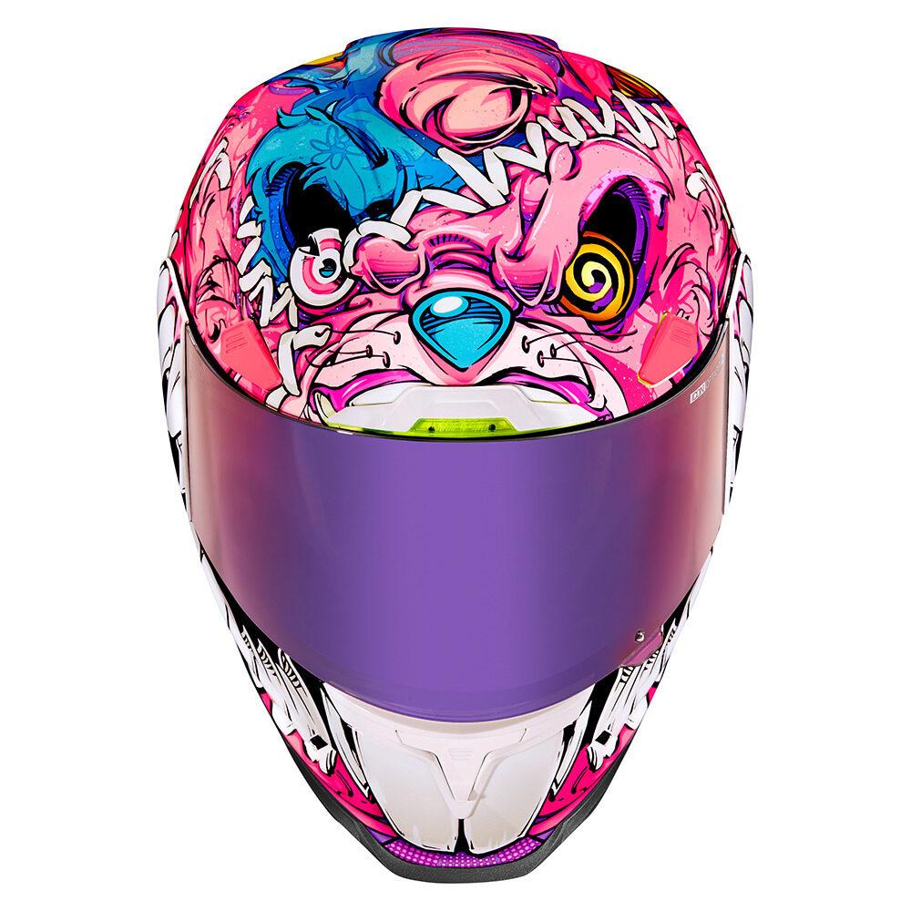 Icon 2021   Airframe Pro Beastie Bunny Street Racing Helmet Collection