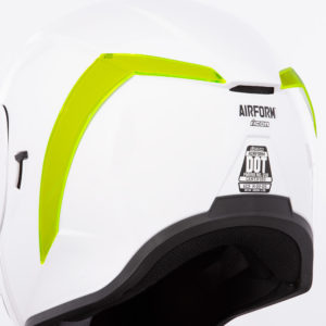 Airform™ Rear Spoilers - Dayglo Green