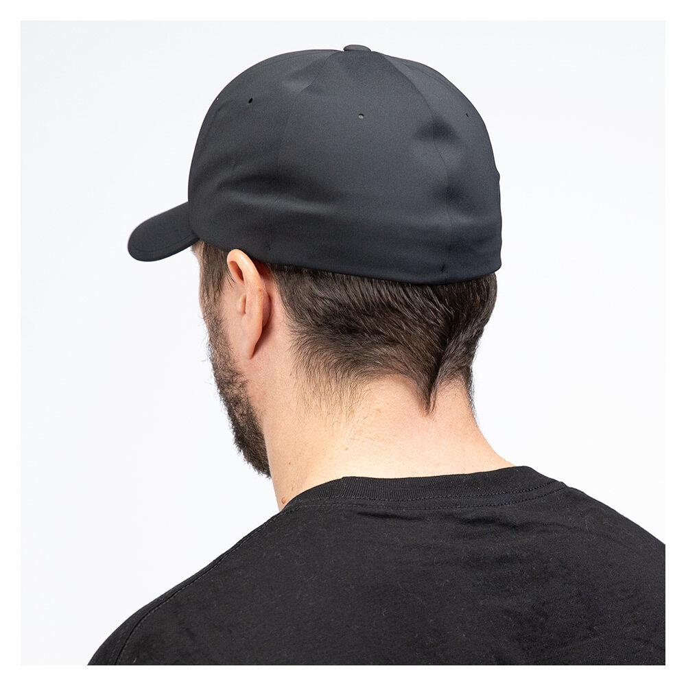 Icon Tech Flexfit Hat Black