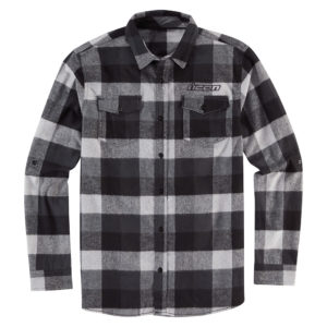 Feller Flannel - Black/Grey