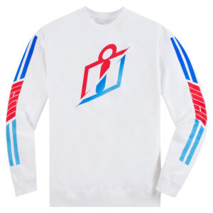 RS Gradient Crew - White