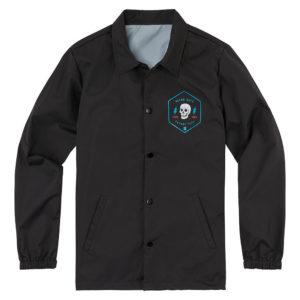 Icon 1000 Retroskull Coach - Black