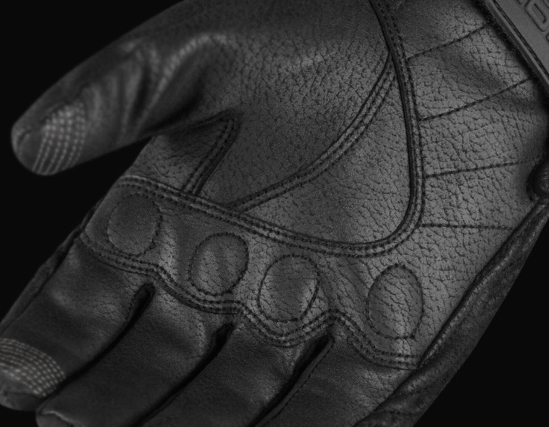 Icon Pursuit CE Gloves Large 3301-3386 Black
