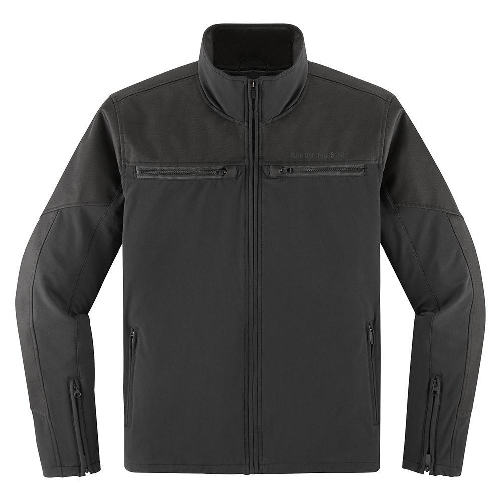 Icon 1000 Nightbreed Jacket - Black