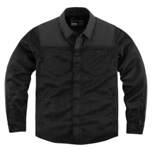 Upstate Riding Shirt - Black