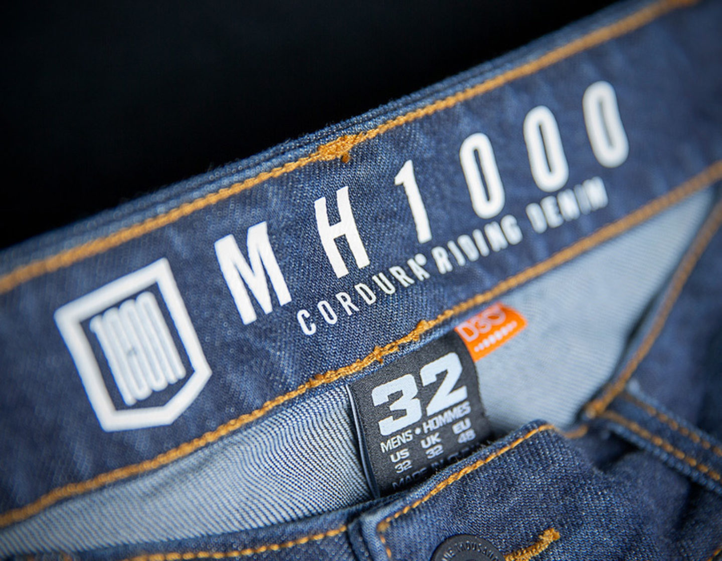 Icon MH 1000 Mens Jeans Blue