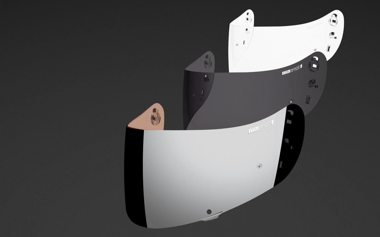 Icon Visor Pinlock Anti Fog Insert Fits Airframe Pro Airmada Dark Smoke