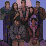Jesus of Arrupe College by Janet McKenzie (1)