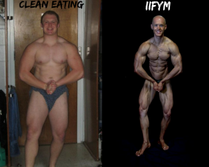 clean eating and IIFYM
