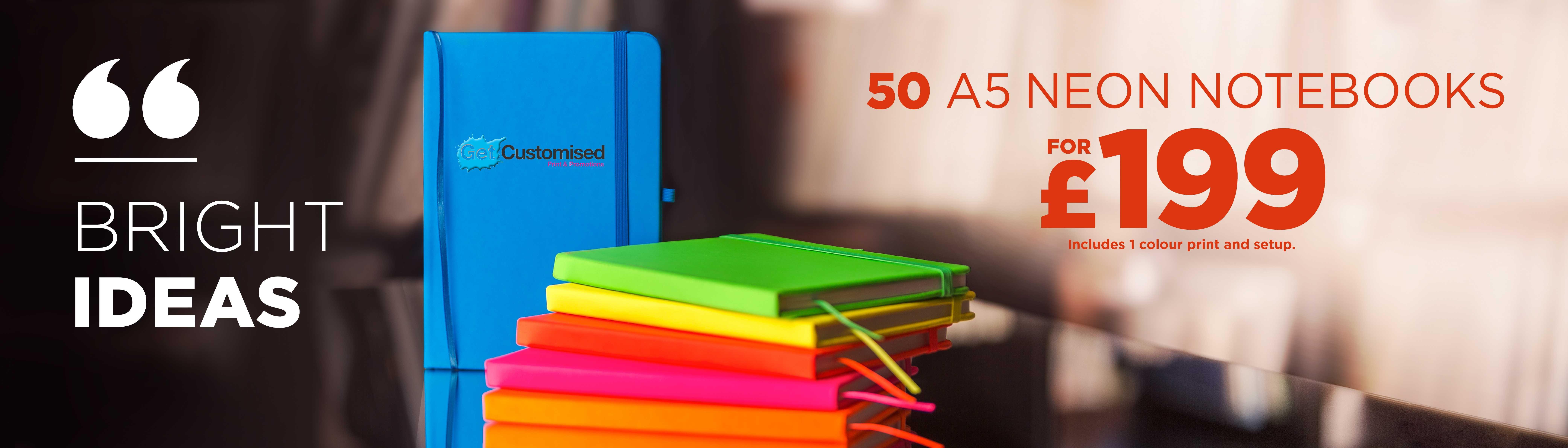 Channl Neon Notebook